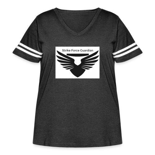 Strike force - Women's Curvy Vintage Sport T-Shirt