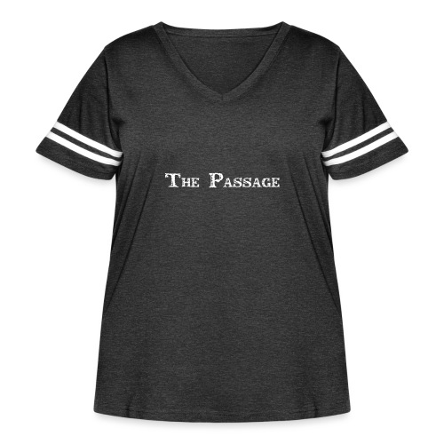 The Passage - Women's Curvy Vintage Sport T-Shirt