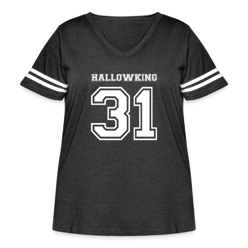 Halloween Hallowking - Women's Curvy Vintage Sport T-Shirt