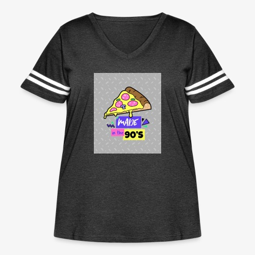 Made In The 90's - Women's Curvy Vintage Sport T-Shirt