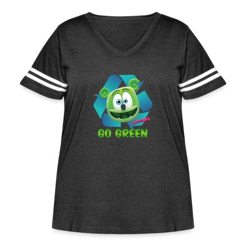 Gummibär Recycle - Women's Curvy Vintage Sport T-Shirt