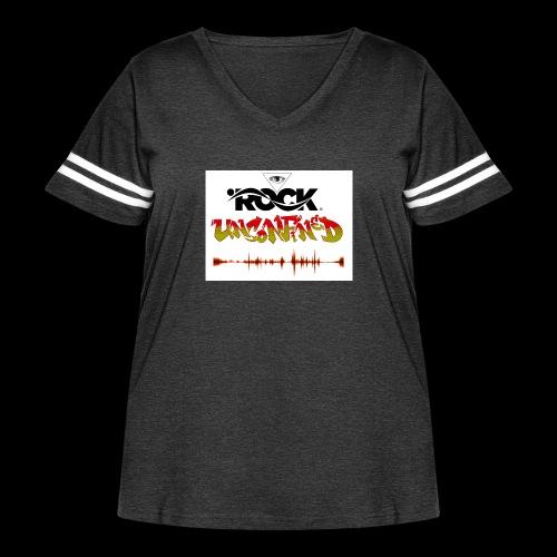 Eye Rock Unconfined - Women's Curvy Vintage Sport T-Shirt