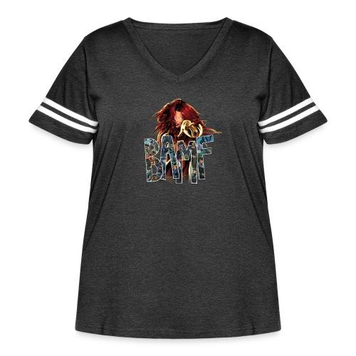phoenix png - Women's Curvy Vintage Sport T-Shirt