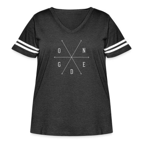 Ogden - Women's Curvy Vintage Sport T-Shirt