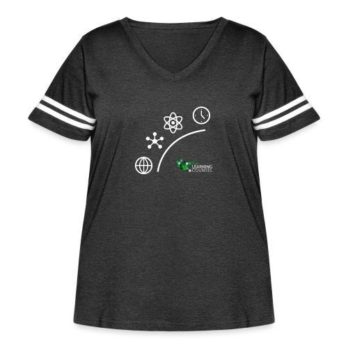 Matter Energy Space Time - Women's Curvy Vintage Sport T-Shirt