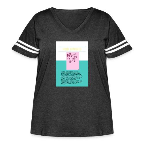 Support.SpreadLove - Women's Curvy Vintage Sport T-Shirt