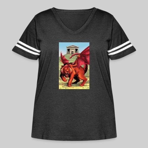 Manticore - Women's Curvy Vintage Sport T-Shirt