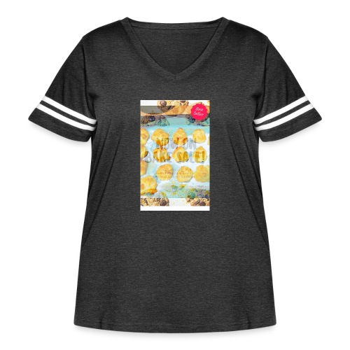 Best seller bake sale! - Women's Curvy Vintage Sport T-Shirt