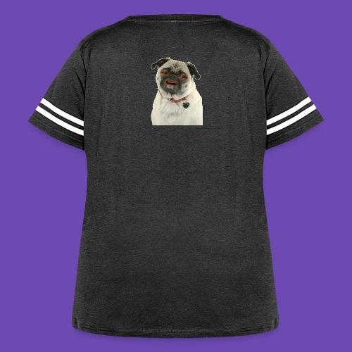 Good times goodbye good boy. - Women's Curvy Vintage Sport T-Shirt