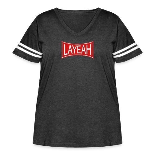 Standard Layeah Shirts - Women's Curvy Vintage Sport T-Shirt