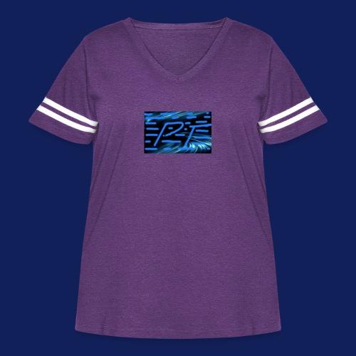 Pt Traditional - Women's Curvy Vintage Sport T-Shirt