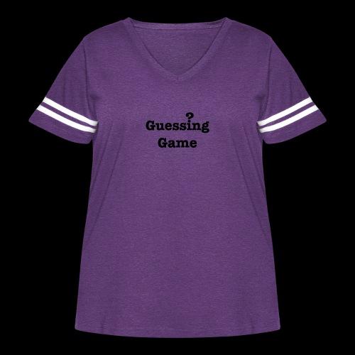 Question - Women's Curvy Vintage Sport T-Shirt