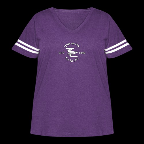 TSC Interlocked - Women's Curvy Vintage Sport T-Shirt