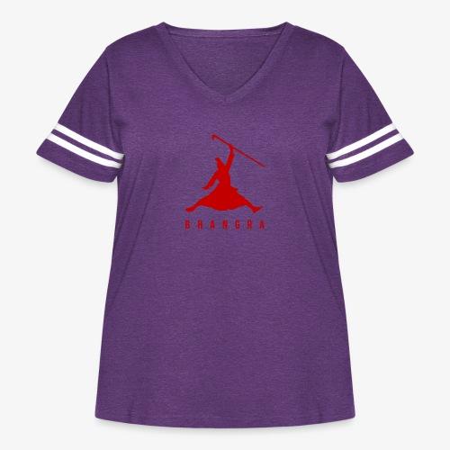 JORDAN BHANGRA - Women's Curvy Vintage Sport T-Shirt