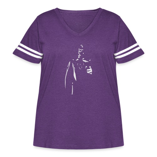 Rubber Man Wants You! - Women's Curvy Vintage Sport T-Shirt