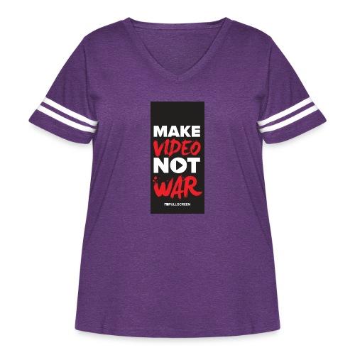 wariphone5 - Women's Curvy Vintage Sport T-Shirt