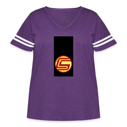siphone5 - Women's Curvy Vintage Sport T-Shirt