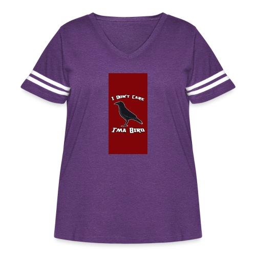 iPhone 5 - Women's Curvy Vintage Sport T-Shirt