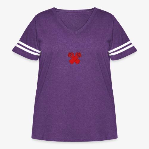 SYNDICAT - Women's Curvy Vintage Sport T-Shirt