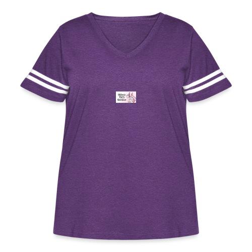 sylvee is a troll - Women's Curvy Vintage Sport T-Shirt