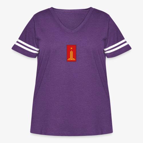 PPG - Women's Curvy Vintage Sport T-Shirt