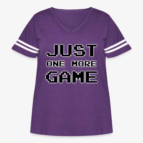 onemore - Women's Curvy Vintage Sport T-Shirt
