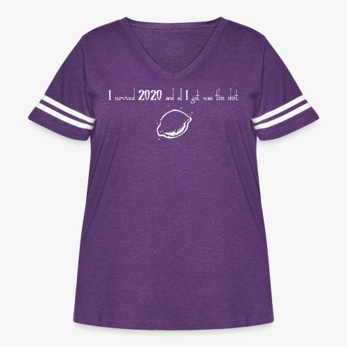 2020 inv - Women's Curvy Vintage Sport T-Shirt
