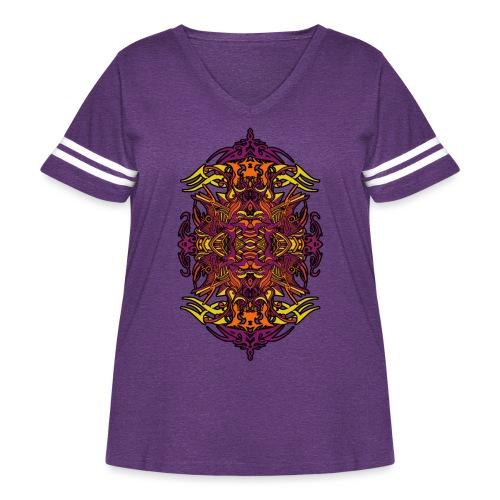 Eternal Voyage 4 - Magic Edition - Women's Curvy Vintage Sport T-Shirt