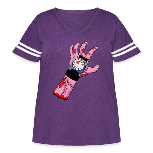 Altitude Zombie! - Women's Curvy Vintage Sport T-Shirt