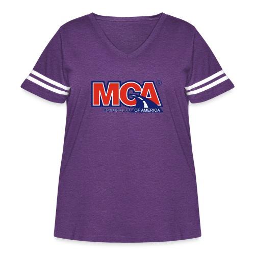 MCA - Women's Curvy Vintage Sport T-Shirt