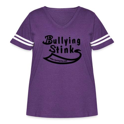 Bullying Stinks! - Women's Curvy Vintage Sport T-Shirt