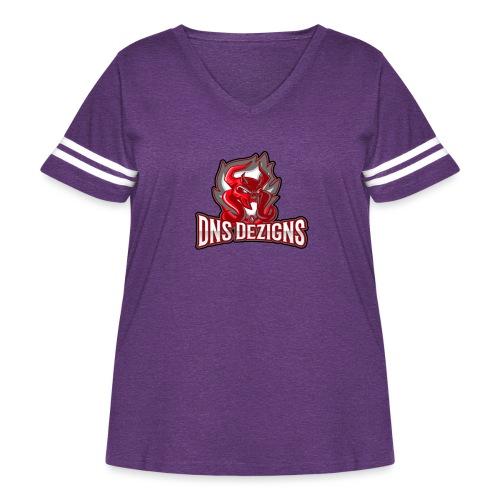 DNS Original - Women's Curvy Vintage Sport T-Shirt