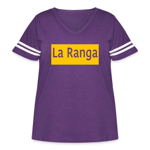 La Ranga gbar - Women's Curvy Vintage Sport T-Shirt