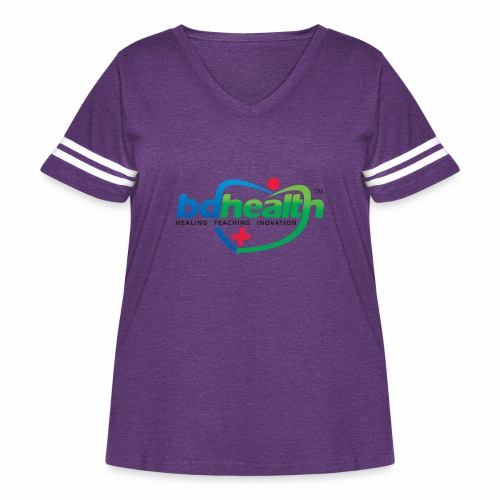 Medical Care - Women's Curvy Vintage Sport T-Shirt