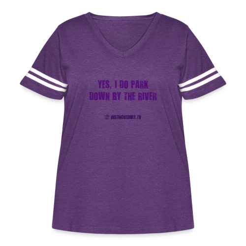 Down by the river - Women's Curvy Vintage Sport T-Shirt