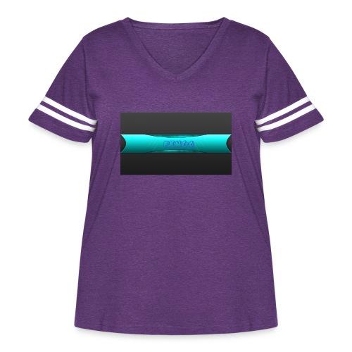 pengo - Women's Curvy Vintage Sport T-Shirt