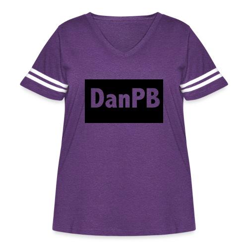 DanPB - Women's Curvy Vintage Sport T-Shirt