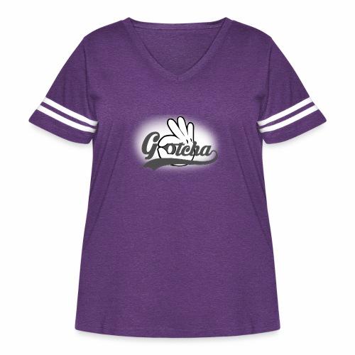 Gotcha - Women's Curvy Vintage Sport T-Shirt