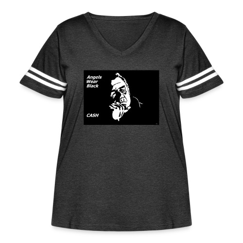 CASH - Women's Curvy Vintage Sport T-Shirt