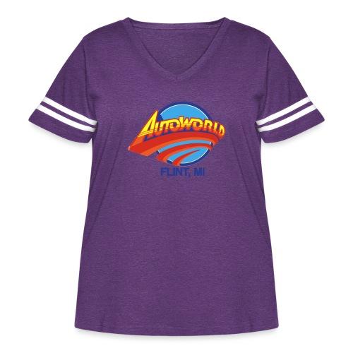 Autoworld - Women's Curvy Vintage Sport T-Shirt