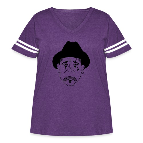 Clowns - Women's Curvy Vintage Sport T-Shirt