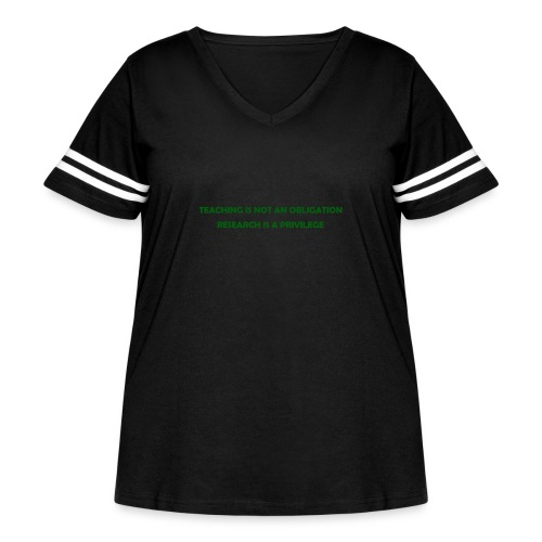 Teaching - Women's Curvy Vintage Sport T-Shirt