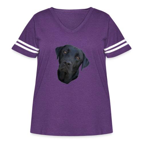 bently - Women's Curvy Vintage Sport T-Shirt
