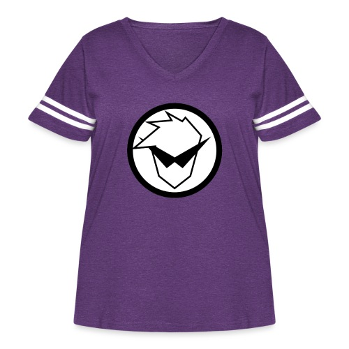 FaryazGaming Logo - Women's Curvy Vintage Sport T-Shirt