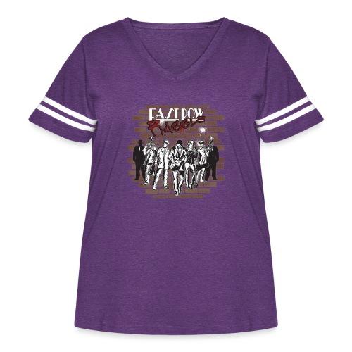 East Row Rabble - Women's Curvy Vintage Sport T-Shirt