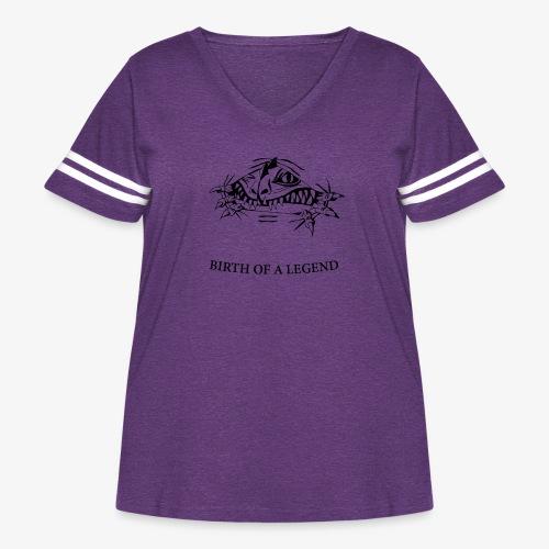 BIRTH - Women's Curvy Vintage Sport T-Shirt
