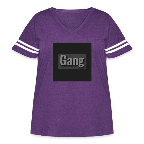 Image - Women's Curvy Vintage Sport T-Shirt