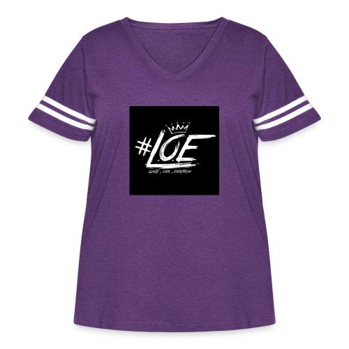 IMG 20170702 015640 - Women's Curvy Vintage Sport T-Shirt