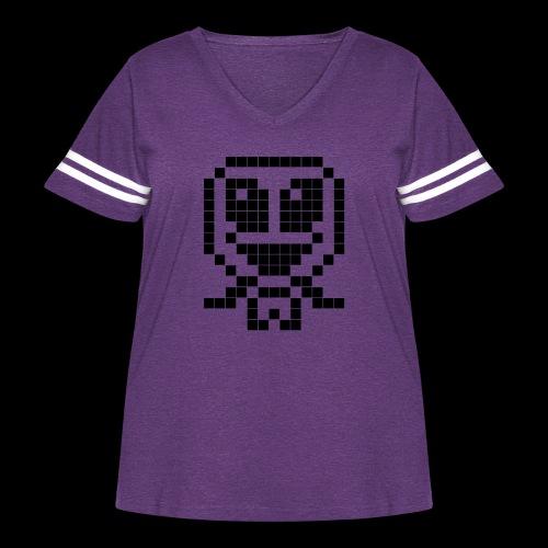 alienshirt - Women's Curvy Vintage Sport T-Shirt