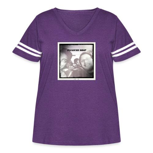 Pleasure Drop - Women's Curvy Vintage Sport T-Shirt